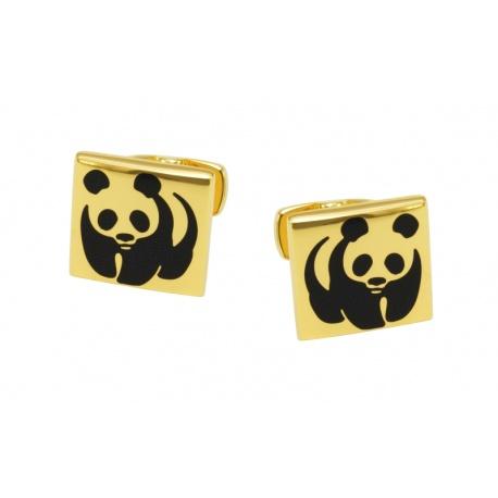 Pandabjørn mansjettknapper