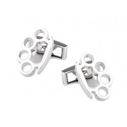 Knuckleduster cufflinks
