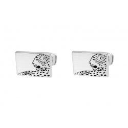 Leopard cufflinks