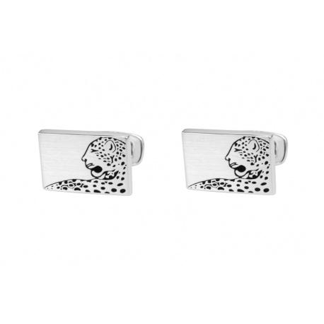 Leopard mansjettknapper