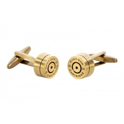 Bronze shotgunshell cufflinks
