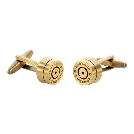 Bronze shotgunshell cufflinks