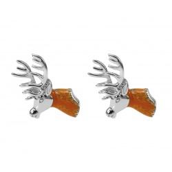 Moose cufflinks