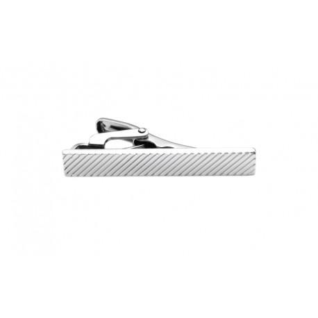 Kort slipsnål diagonale striper