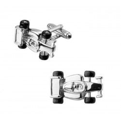 Formula one car cufflinks