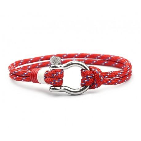 Rød tau armbånd