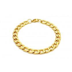 Cubansk gull armlenke rustfritt stål 7.5mm