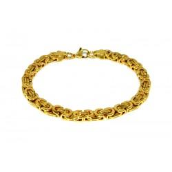 Armbånd Gull Rustfritt Stål 6.5mm