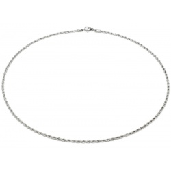 Stainless steel Cordel necklace 2.4mm