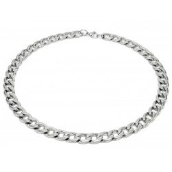 Thick stainless steel necklace 11.5mm