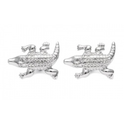 Crocodile cufflinks