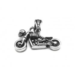 Skeleton rider pendant