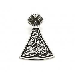 Medieval axe pendant