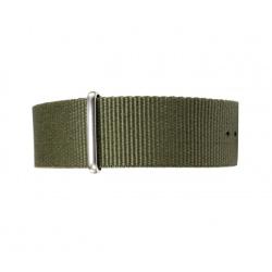 Nato watchstrap olivegreen 22 mm