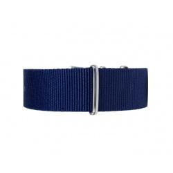 Natoreim mørk blå 22 mm