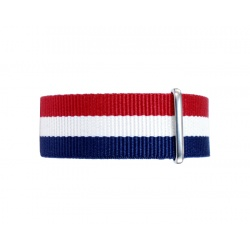 Nato watchstrap tricolor 22 mm