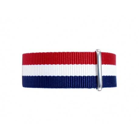 Nato watchstrap tricolor 22 mm