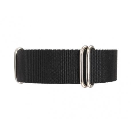 Natostrap black 22 mm