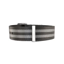 Natostrap black grey 23 mm