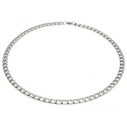 Cuban stainless steel necklace 7.5 mm