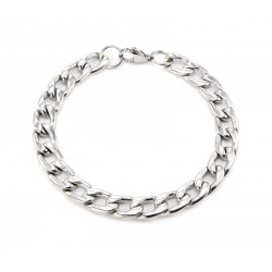 Cuban steel bracelet 9.5 mm
