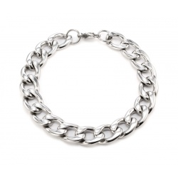 Cuban stainless steel bracelet 11.5 mm